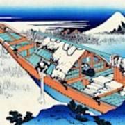 Top Quality Art - Mt,fuji36view-joshu Ushibori Poster