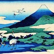 Top Quality Art - Mt,fuji36view-soshu Umezawanosho Poster