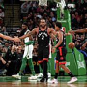 Toronto Raptors V Boston Celtics Poster
