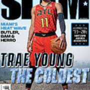 Trae Young: The Coldest SLAM Cover Poster