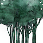 Tree Impressions 1d Poster