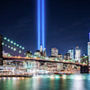 Tribute In Light From Brooklyn 1 Poster
