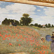 Tribute To Claude Monet Poster