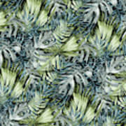 Tropical Leaves I Poster