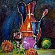 Tulip In Still Life Poster