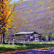 Tumut Valley Farm Shed Poster