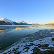 Turnagain Arm In Winter Alaska Poster