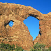 Turret Arch With Moon Poster