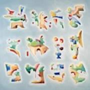 Twelve Glyphs Poster
