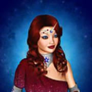Unicorn Princess Adoria Poster