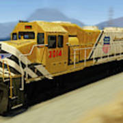 Union Pacific 2014 At Work Poster