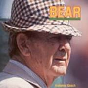 University Of Alabama Coach Paul Bear Bryant Sports Illustrated Cover Poster