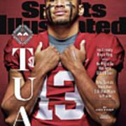 University Of Alabama Qb Tua Tagovailoa, 2018 College Sports Illustrated Cover Poster