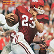 University Of Arkansas Harry Jones Sports Illustrated Cover Poster