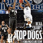 University Of Connecticut Vs Butler University, 2011 Ncaa Sports Illustrated Cover Poster
