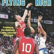 University Of Louisville Pervis Ellison, 1986 Ncaa National Sports Illustrated Cover Poster
