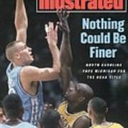 University Of North Carolina Eric Montross, 1993 Ncaa Sports Illustrated Cover Poster