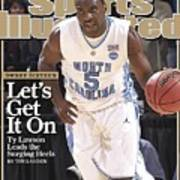 University Of North Carolina Ty Lawson, 2009 Ncaa South Sports Illustrated Cover Poster