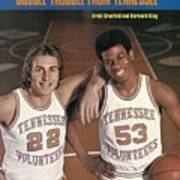 University Of Tennessee Ernie Grunfeld And Bernard King Sports Illustrated Cover Poster