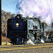 Up 844 Movin' On - Artistic Poster