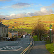 Upper Wensleydale From Hawes Yorkshire Dales National Park Poster