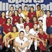 Us Womens National Soccer Team, 1999 Sportswomen Of The Year Sports Illustrated Cover Poster