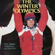 Usa Eric Heiden, 1980 Winter Olympics Sports Illustrated Cover Poster