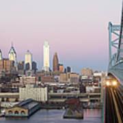Usa, Pennsylvania, Philadelphia, View Poster