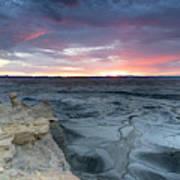 Utah Desert Sunrise Poster