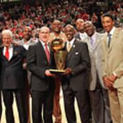 Utah Jazz V Chicago Bulls Poster
