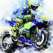 Valentino Rossi - 18 Poster