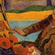 Van Gogh Painting Sunflowers 1888 Poster