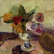 Vase Of Flowers 1886 Poster
