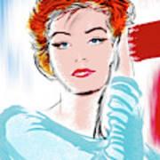 vibrant Anouk Poster