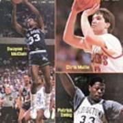 Villanova University Dwayne Mcclain, St. Johns University Sports Illustrated Cover Poster