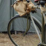 Vintage Bicycle World War II  Poster