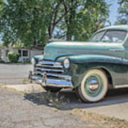 Vintage Car Chevy Fleetmaster Poster