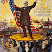 Vintage Poster - William Mckinley Poster