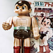 Vintage Robot Astro Boy Poster