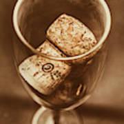 Vintage Vino Poster