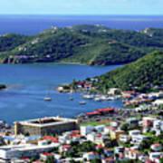 Virgin Island View Poster