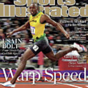 Warp Speed 2012 Summer Olympics Sports Illustrated Cover Poster