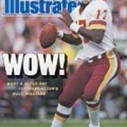 Washington Redskins Doug Williams, Super Bowl Xxii Sports Illustrated Cover Poster