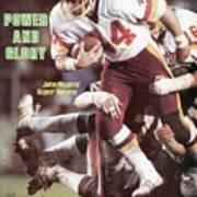 Washington Redskins John Riggins, Super Bowl Xvii Sports Illustrated Cover Poster