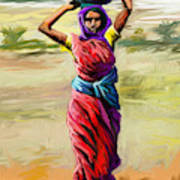 Water Carrier Poster