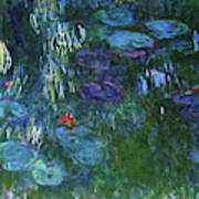 Water Lilies 1918 - Digital Remastered Edition Poster