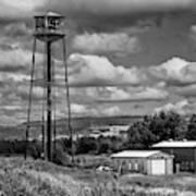 Water Tower In Hillsborough New Brunswick Poster