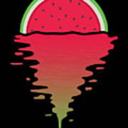 Watermelon Sunset Poster