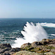 Wave Like Quartz Poster