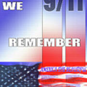 We Remember 9/11 Poster